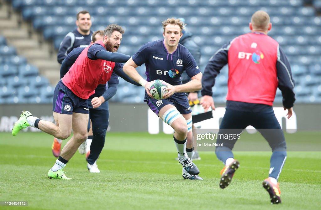 Scotland Captains Run : News Photo