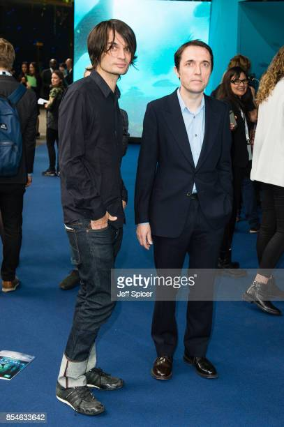Jonny Greenwood and Colin Greenwood from Radiohead attend the World Premiere of 'Blue Planet II' on September 27 2017 in London United Kingdom