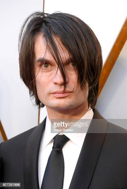 Jonny Greenwood attends the 90th Annual Academy Awards at Hollywood Highland Center on March 4 2018 in Hollywood California