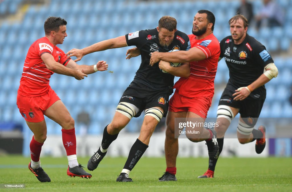 Exeter Chiefs v Leicester Tigers - Gallagher Premiership Rugby : ニュース写真