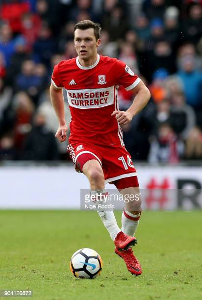 Jonny Howson of Middlesbrough during The Emirates FA Cup Third Round match between Middlesbrough and Sunderland at the Riverside Stadium on January 6...