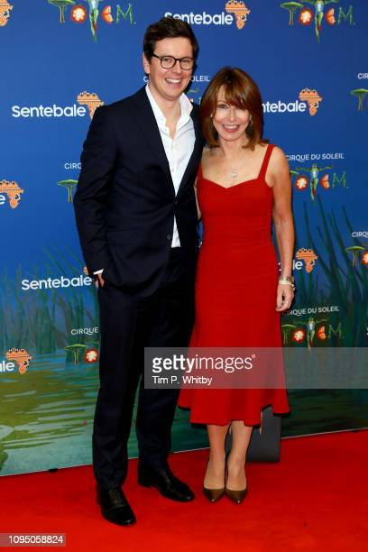 Jonny Knowlson and Kay Burley attend the Cirque du Soleil Premiere Of TOTEM at Royal Albert Hall on January 16 2019 in London England