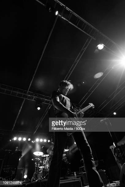 jonny lang, concerto sesto san giovanni - modern rock stock pictures, royalty-free photos & images