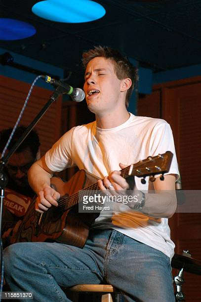Jonny Lang during 2003 Sundance Film Festival Jonny Lang Emmylou Harris and Others Perform at the Sundance ASCAP Music Cafe at Sundance Music Cafe in...