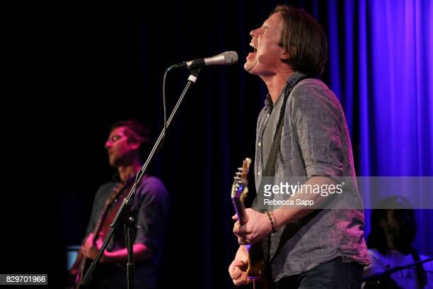 Jonny Lang performs at The Drop Jonny Lang at The GRAMMY Museum on August 10 2017 in Los Angeles California
