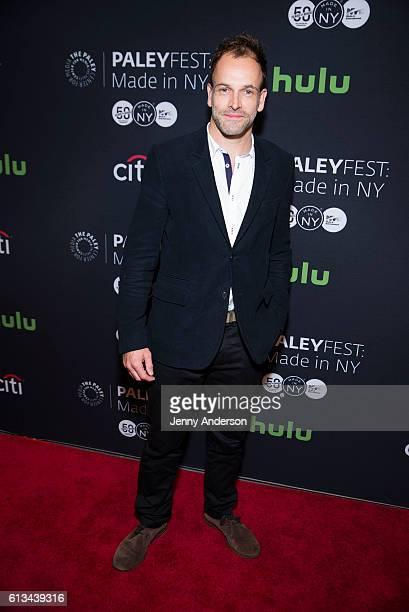 Jonny Lee Miller attends PaleyFest New York 2016 for Elementary at The Paley Center for Media on October 8 2016 in New York City