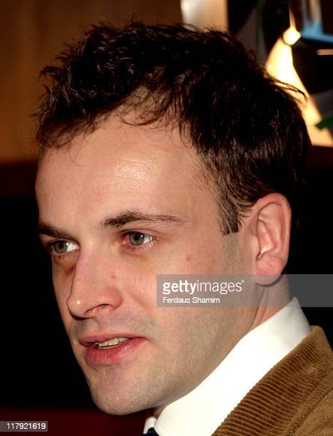 Jonny Lee Miller during Celebrities Join England Rugby Team For One Off Show For ITV at London Television Centre in London Great Britain