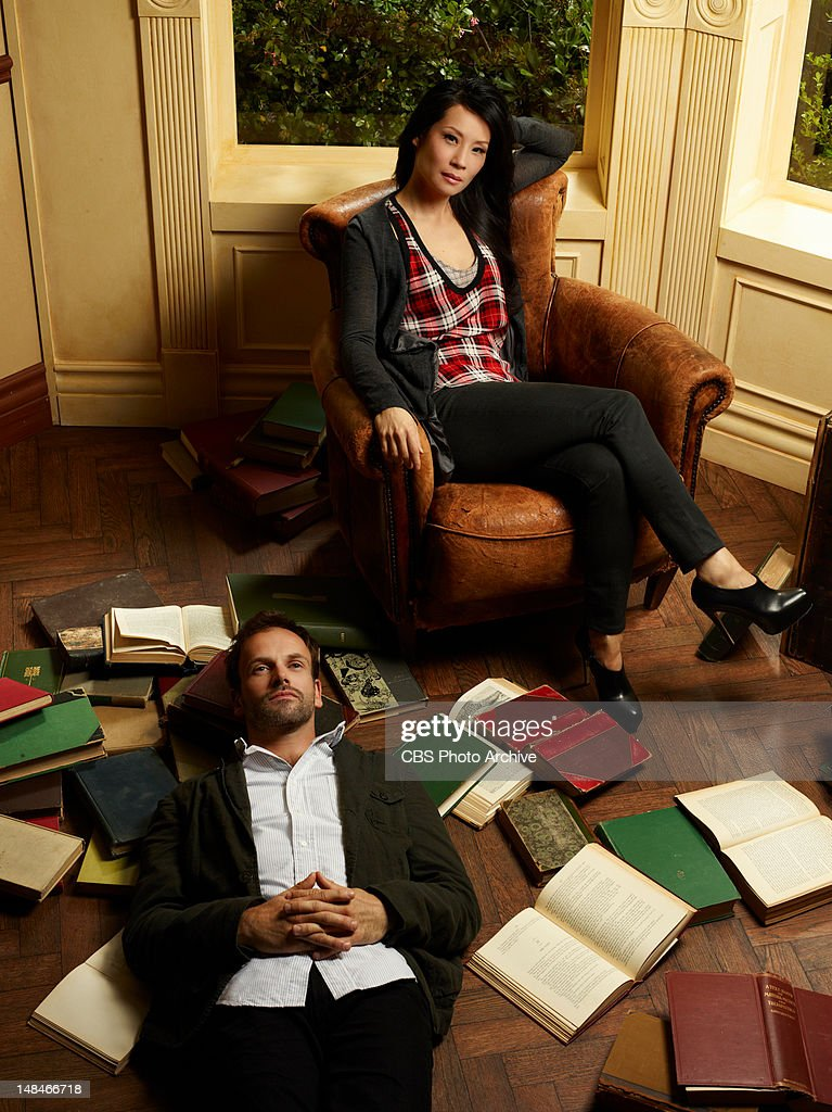 Jonny Lee Miller (left) stars as Sherlock Holmes and Lucy Liu (right) stars as Watson on the new television series ELEMENTARY, premiering Thursdays, 10pm ET/PT this Fall on the CBS Television Network.