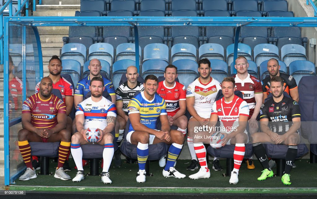 Rugby League 2018 Season Launch : News Photo