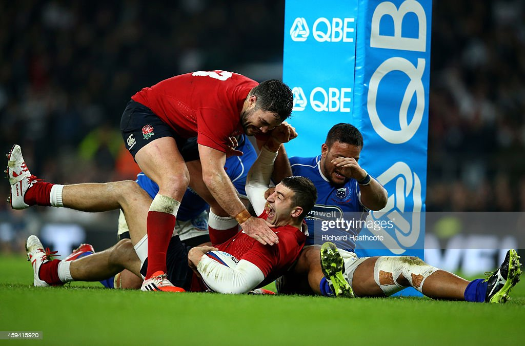 England v Samoa - QBE International