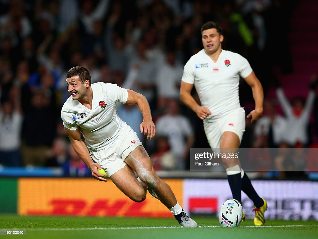 England v Wales - Group A: Rugby World Cup 2015 : ニュース写真