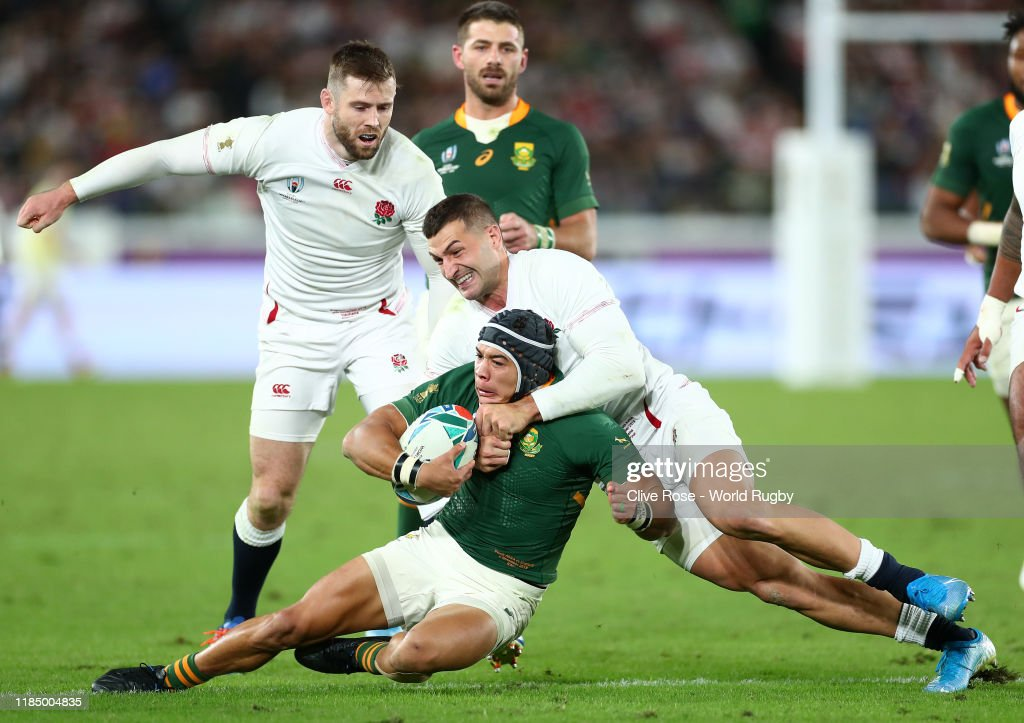 England v South Africa - Rugby World Cup 2019 Final : Foto jornalística