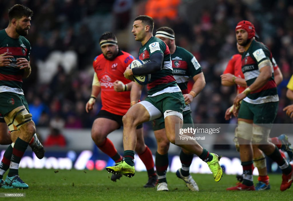 Leicester Tigers v Ulster Rugby - Heineken Champions Cup : News Photo