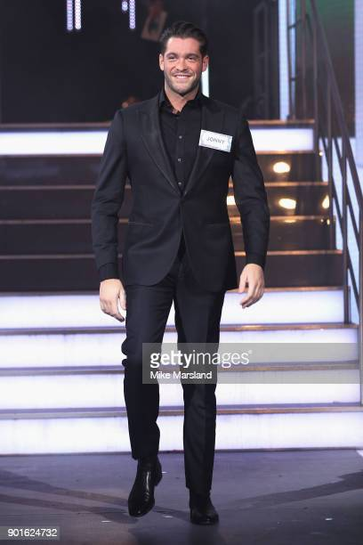 Jonny Mitchell attends the Celebrity Big Brother male contestants launch night at Elstree Studios on January 5 2018 in Borehamwood England