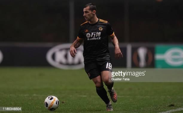 Jonny of Wolverhampton Wanderers in action during the Group K UEFA Europa League match between SC Braga and Wolverhampton Wanderers at Estadio...