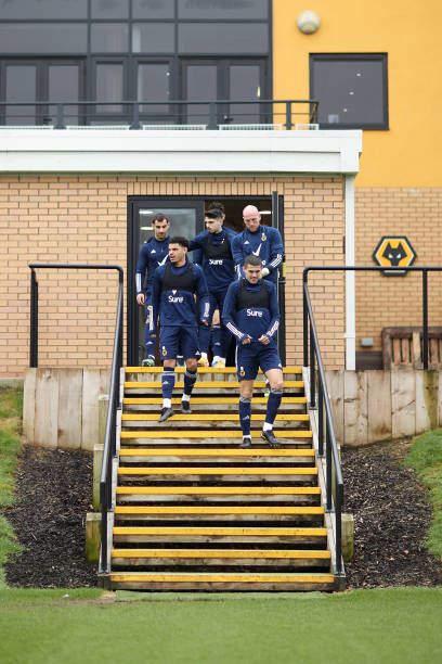 GBR: Wolverhampton Wanderers Training Session