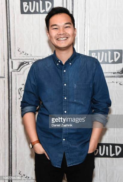 Jonny Sun attends the Build Series to discuss his new book 'Gmorning Gnight Little Pep Talks For Me You' at Build Studio on October 16 2018 in New...