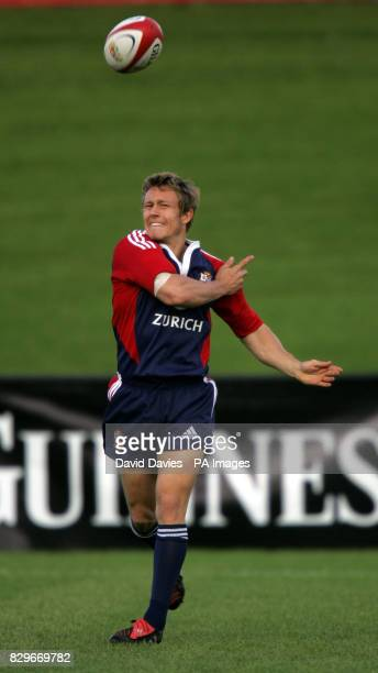 Jonny Wilkinson during a British Irish Lions training session