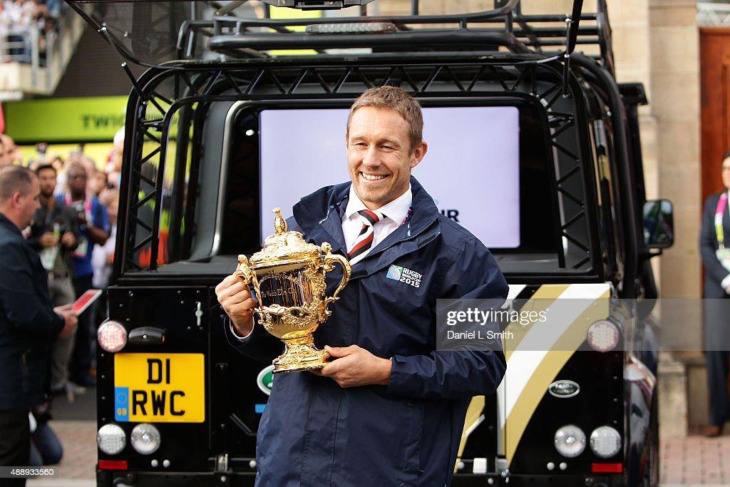 England v Fiji - RWC 2015 - Land Rover : News Photo