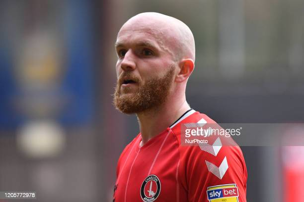 Jonny Williams looks on during the Sky Bet Championship match between Charlton Athletic and Middlesbrough at The Valley London on Saturday 7th March...