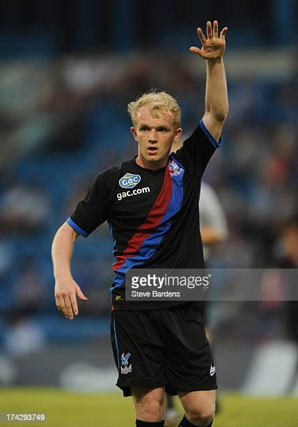 Jonny Williams of Crystal Palace during the pre season friendly match between Gillingham and Crystal Palace at Priestfield Stadium on July 23 2013 in...