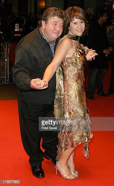 Jono Coleman and Harriet Scott during National Treasure London Premiere at Odeon West End in London United Kingdom