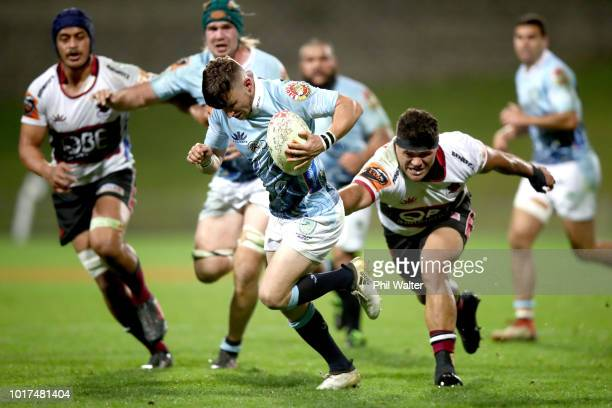 Matty Wright of Northland during the round one Mitre 10 Cup match between North Harbour and Northland at QBE Stadium on August 16 2018 in Auckland...