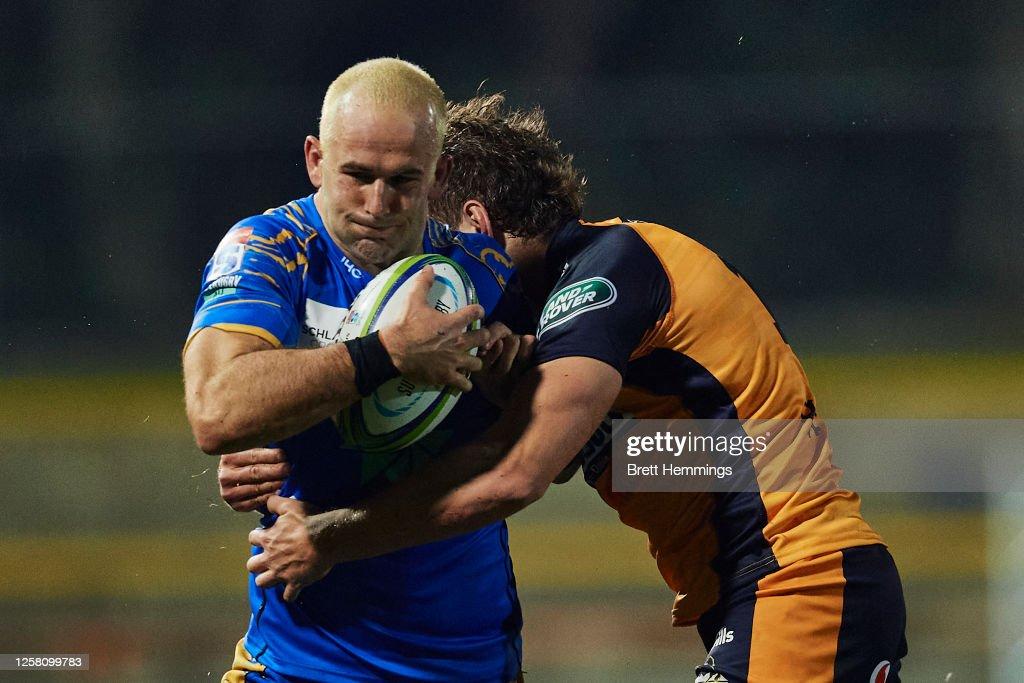 Super Rugby AU Rd 4 - Western Force v Brumbies : News Photo