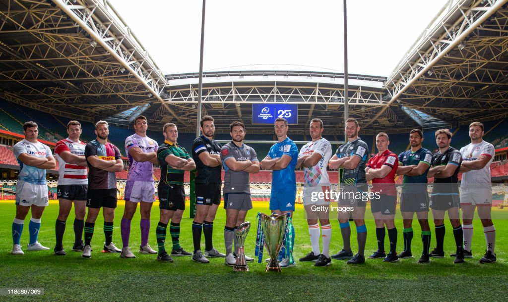 European Rugby Heineken Champions Cup and Challenge Cup 2019/2020 Season Launch - Gallagher Premiership and Pro14 clubs : ニュース写真