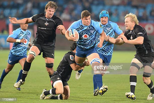 Jono Ross of the Bulls during the Super Rugby match between Vodacom Bulls and Southern Kings from Loftus Versfeld on June 29 2013 in Pretoria South...