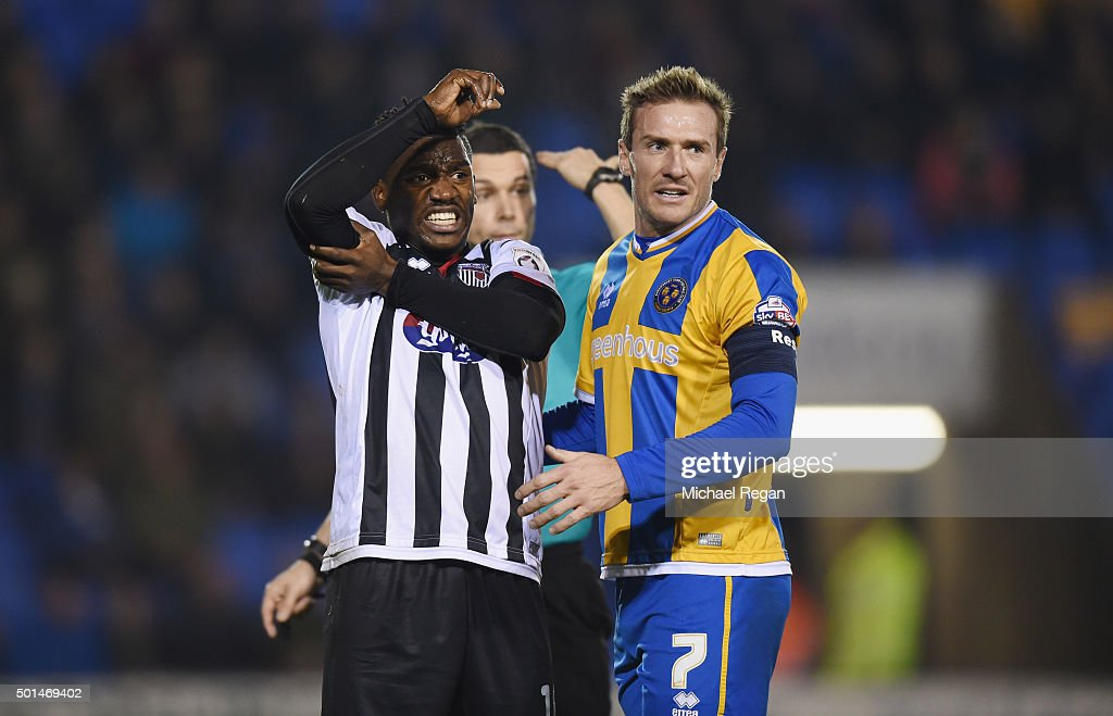 Shrewsbury Town v Grimsby Town - The Emirates FA Cup Second Round Replay