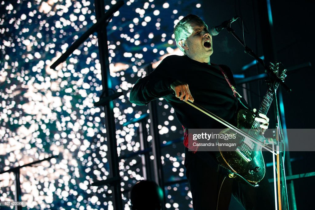 Jonsi of Sigur Ros performs during Splendour in the Grass 2017 on July 23, 2017 in Byron Bay, Australia.