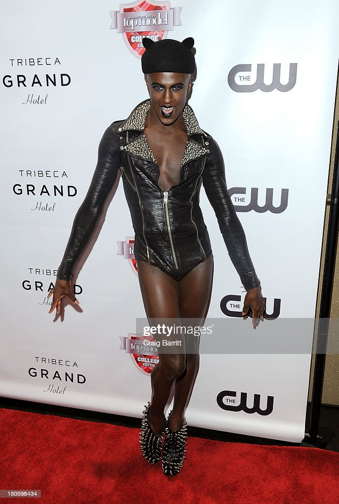 Jonte attends the 'America's Next Top Model: College Edition, Cycle 19' Premiere at the Tribeca Grand Hotel on August 22, 2012 in New York City.