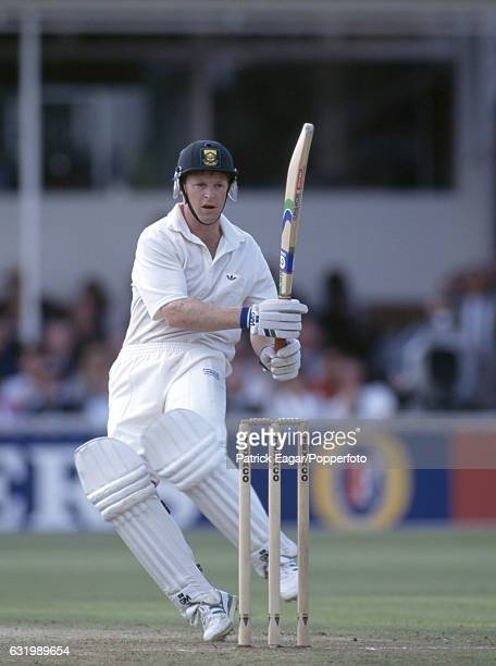 Jonty Rhodes batting for South Africa during the 1st Texaco Trophy One Day International between England and South Africa at Edgbaston Birmingham...