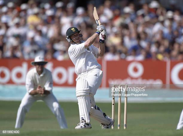 Jonty Rhodes batting for South Africa during the 5th Test match between England and South Africa at Headingley Leeds 9th August 1998