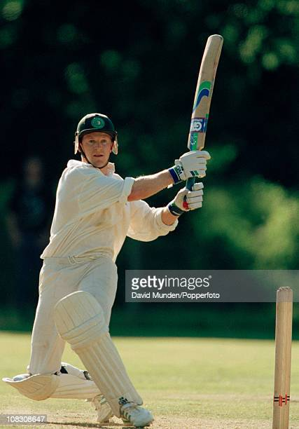 Jonty Rhodes batting for South Africa during the match between the Earl of Carnarvon's XI and South Africa played at Highclere Castle 23rd June 1994...