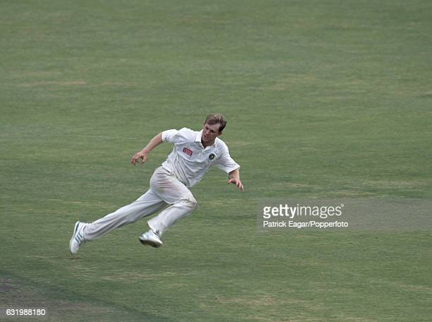 Jonty Rhodes fielding for South Africa during the 2nd Test match between South Africa and Australia at Newlands Cape Town South Africa 18th March 1994