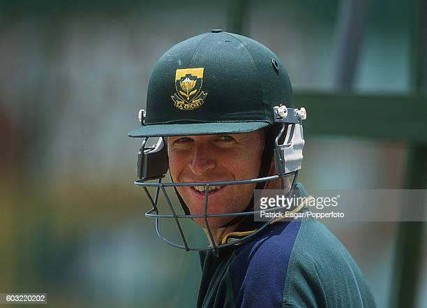 Jonty Rhodes of South Africa before the 1st Test between South Africa and England at The Wanderers Johannesburg 24th November 1999