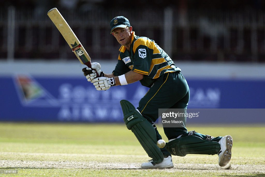 Jonty Rhodes of South Africa : News Photo