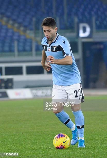 Jony of SS Lazio during the Coppa Italia match between SS Lazio and US Cremonese at Olimpico Stadium on January 14 2020 in Rome Italy