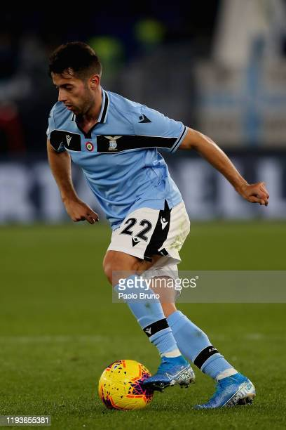 Jony of SS Lazio in action during the Coppa Italia match between SS Lazio and US Cremonese at Olimpico Stadium on January 14 2020 in Rome Italy