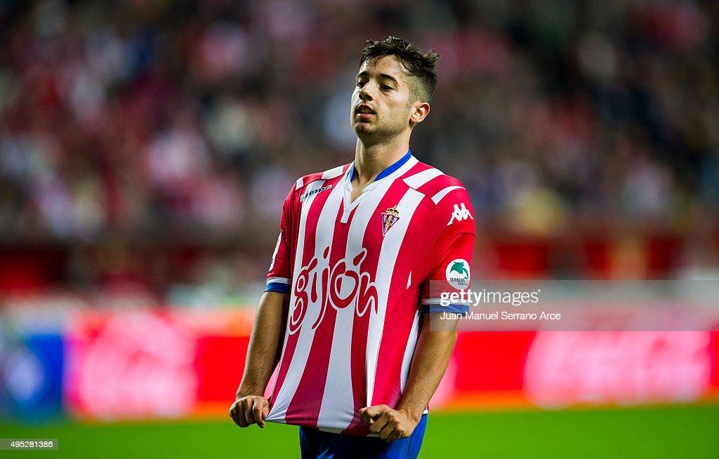 Sporting Gijon v Malaga CF - La Liga