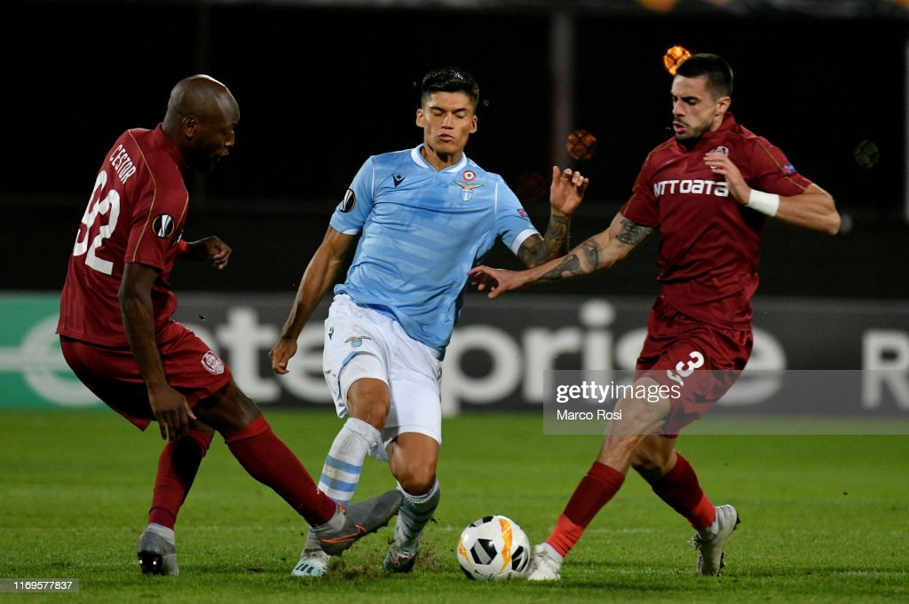 CFR Cluj v Lazio Roma: Group E - UEFA Europa League : News Photo