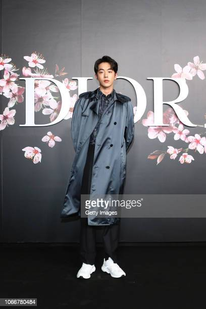 Joo Hyuk Nam attends the photocall at the Dior Pre Fall 2019 Men's Collection on November 30, 2018 in Tokyo, Japan.