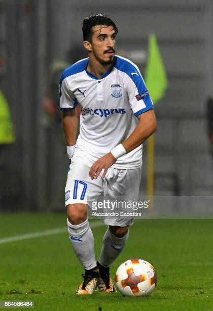 Joào Pedro of Apollon Limassol FC in action during the UEFA Europa League group E match between Atalanta and Apollon Limassol at Mapei Stadium Citta'...