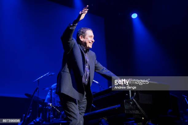 Jools Holland and his Rhythm & Blues Orchestra perform at First Direct Arena Leeds on December 22, 2017 in Leeds, England.
