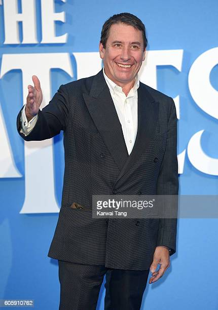 Jools Holland arrives for the World premiere of 'The Beatles Eight Days A Week The Touring Years' at Odeon Leicester Square on September 15 2016 in...