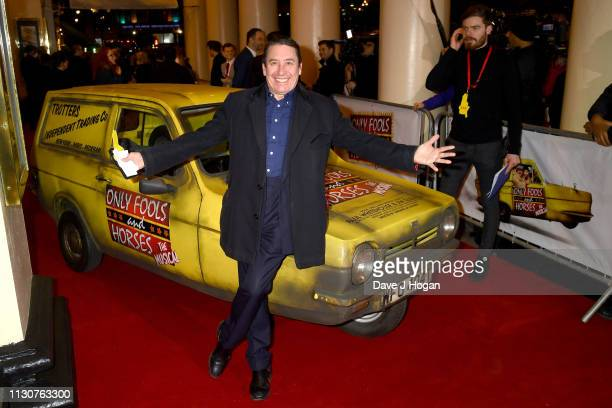 Jools Holland attends the opening night of Only Fools and Horses The Musical at Theatre Royal Haymarket on February 19 2019 in London England