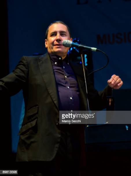 Jools Holland performs at Picnic Concert at Kenwood House on August 16 2009 in London England