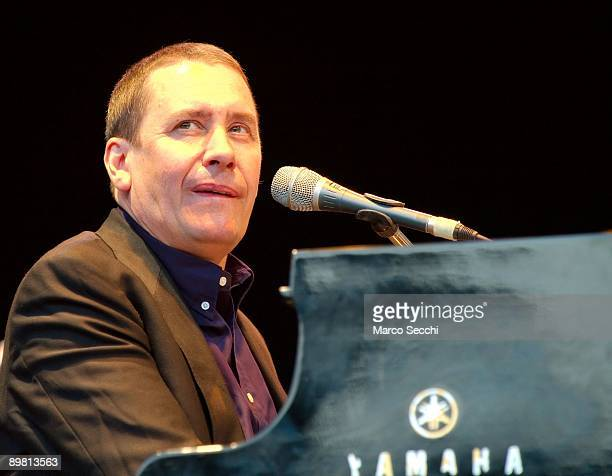 Jools Holland performs at the Picnic Concert at Kenwood House on August 15 2009 in London England